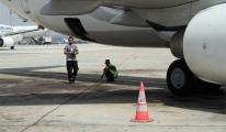 THY uçağı dumana boğuldu!