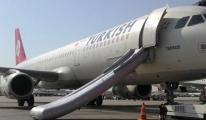 Kalkışa Hazırlanan A321'in Slide'ı Patladı
