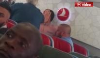 THY Uçağında Skandal Darp Görüntüleri video