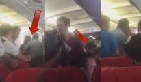 THY Uçağında Tokatlar Konuştu Yolcular Dehşet Yaşadı...
