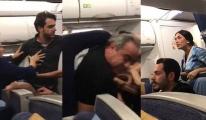 THY Uçağında Yumruklar Konuştu!