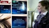 THY uçaklarındaki sefer duası gündem oldu!video