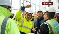 THY yöneticileri 3. Havalimanı'nı gezdi video