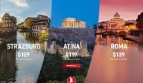 THY'dan Güney Avrupa'ya seyahat 119 Dolar
