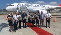 THY'nin İstanbul - Gazipaşa İlk Seferi