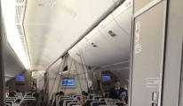 THY'nin Los Angeles uçağı acil iniş yaptı!