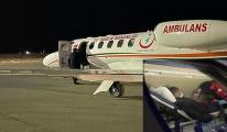TIR şoförü: Ambulans uçağıyla Erzurum'a getirildi(video)