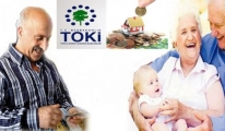 TOKİ'den Emeklilere 240 Lira Taksitle Konut
