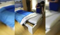 Tokyo 2020'ye 'antiseks' yatak damgasını vurdu