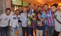 Trabzon'da Jan Marie Pfaff coşkusu!
