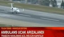 Trabzon havalimanı kapatıldı