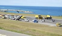 Trabzon Havalimanı, pist onarımı için 1 gün uçuşlara kapatıldı