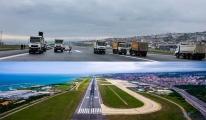 Trabzon Havalimanı pisti, yenileniyor