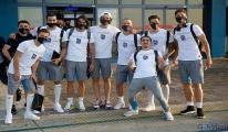 Trabzonspor kafilesi Alanya'da