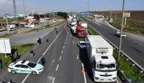 Trakya'dan İstanbul'a giden araçlar kuyruk oluşturdu