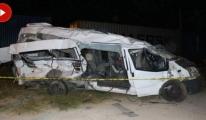 Tren İşçi Servisine Çarptı: 5 Ölü, 11 Yaralı