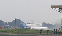 Trigana Air Service kargo 737(video)