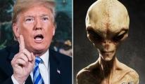Trump UFO'lar konusunda şüphe duyuyormuş!