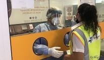 Tüm havalimanı personeline PCR testi yapıldı