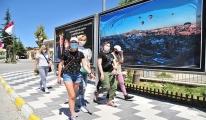 Turistlerden bayramda Kapadokya turu#video