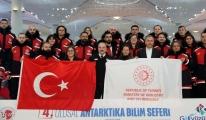 Türk bilim insanları Antarktika'ya ulaştı!