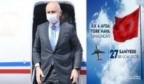Türk hava sahasından 27 saniyede bir uçak geçti!