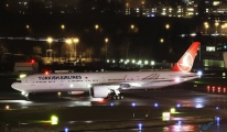 Türk Hava Yolları'na Boeing 777-3F2 Zürih Havalimanı'nda