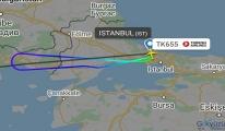 Türk Hava Yolları uçağı İstanbul'a geri döndü