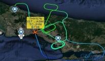 Türk Hava Yolları Uçağına yıldırım çarptı