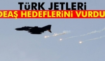 Türk Jetleri DEAŞ Hedeflerini Vuruyor
