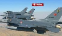 Türk jetleri PKK'ya Bomba Yağdırdı