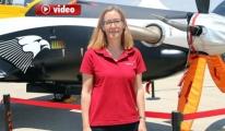 Türk Kadın'ının Havadaki Başarısı video
