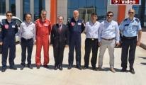 Türk Yıldızları'ndan Yalvaç'ta nefes kesen gösteri!video