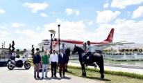 Türk Yıldızları Parkı'nda İncelemelerde Bulundu