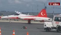 Türk Yıldızları'na TGS yer hizmeti verdi!!video