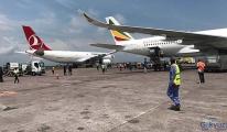Turkish Cargo, park halindeki uçağa çarptı