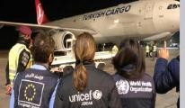 Turkish Cargo, UNICEF'in Kovid-19 aşılarını taşıdı