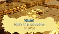 Türkiye, 564,80 Tonluk Altın Rezervimiz Var
