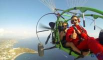 TÜRKİYE'nin ilk özel motorlu paraşütü