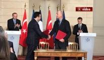 Türkiye ve Fransa arasında dev anlaşma video