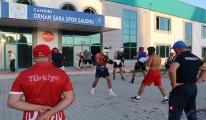 Türkiye ve İngiliz Boks Milli takımları