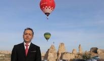 Türkiye'de ilk kez sıcak hava balonu üretildi