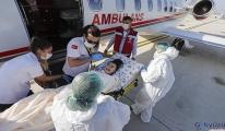 Türkmenistan'dan ambulans uçakla Türkiye'ye getirildi