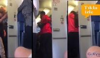 Uçakta tuvalet sapıkları!