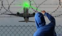 Uçağa lazer tacizi;17 Bin 361 TL cezası var!