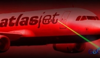 Uçağa lazer tutana 10 bin lira ceza