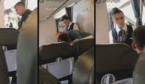 Uçağa Sigarayla Girince Hostesle Kavga Etti video
