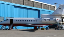 Uçağın Kuyruk Numarası TC-FTG Dikkat Edin .