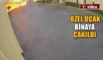 Uçak alev topuna döndü!video