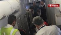Uçak Antalya'ya zorunlu iniş yaptı